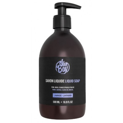 Savon liquide Olive and Bay Lavande 500 ml